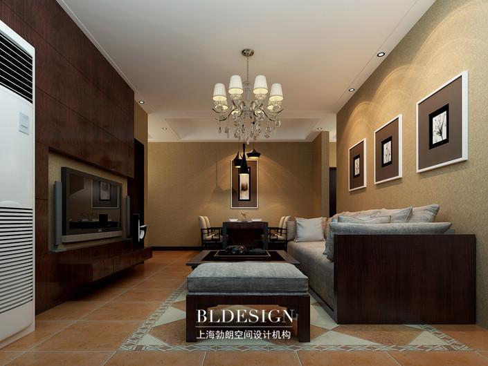 简约北欧风格豪宅设计-豪宅客厅