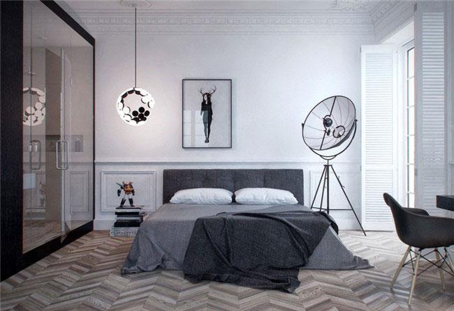 现代别墅豪宅设计效果图 尽显白色优雅艺术风