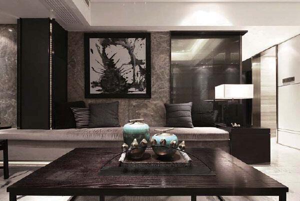 新中式古典别墅豪宅设计效果图欣赏-娱乐会所-上海()