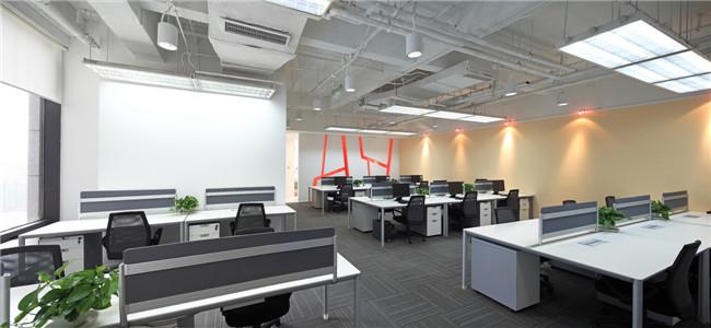 300平方小型企业办公室设计案例欣赏
