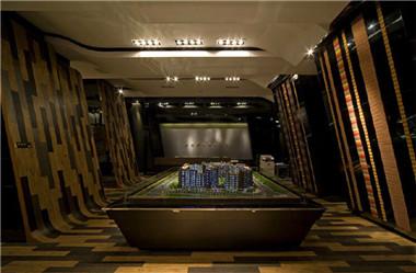 富有创意的广州金色城品售楼处设计说明