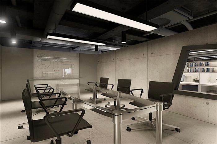 感受水泥质感 工业风格办公设计方案