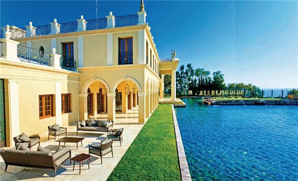 图纸别墅a图纸欧式实景设计夹子图欣赏顶级世界黑图片