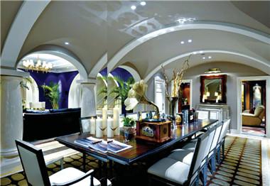 法式风格别墅设计效果图  如电影剧场般恢宏大气