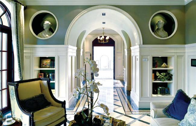 欧洲古典法式风格别墅设计效果图