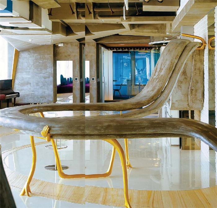 超现实主义的创意办公空间设计效果图欣赏图片