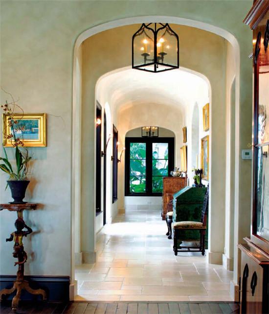 经典欧式别墅设计 西班牙式别墅室内设计效果图