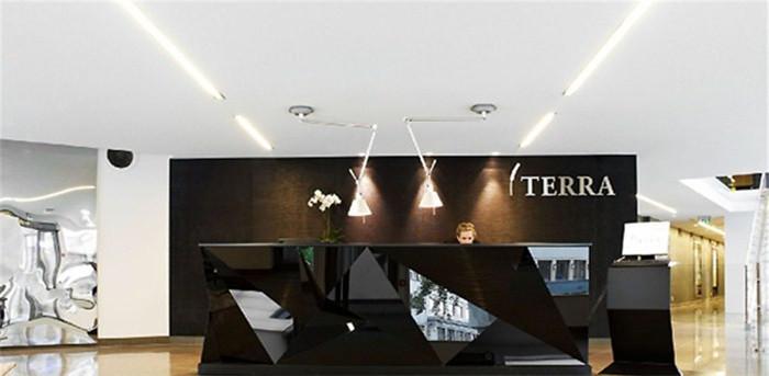 terra新总部办公室前台接待设计方案