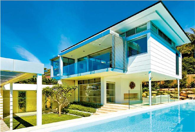 每一层建筑皆是风景 某豪华海景别墅设计案例赏析