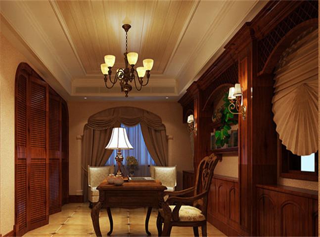 美式风格的极致奢华 独幢豪宅别墅设计案例赏析