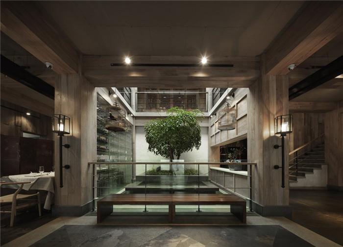 东方意境高级餐饮会所设计案例 北京四季民福烤鸭店