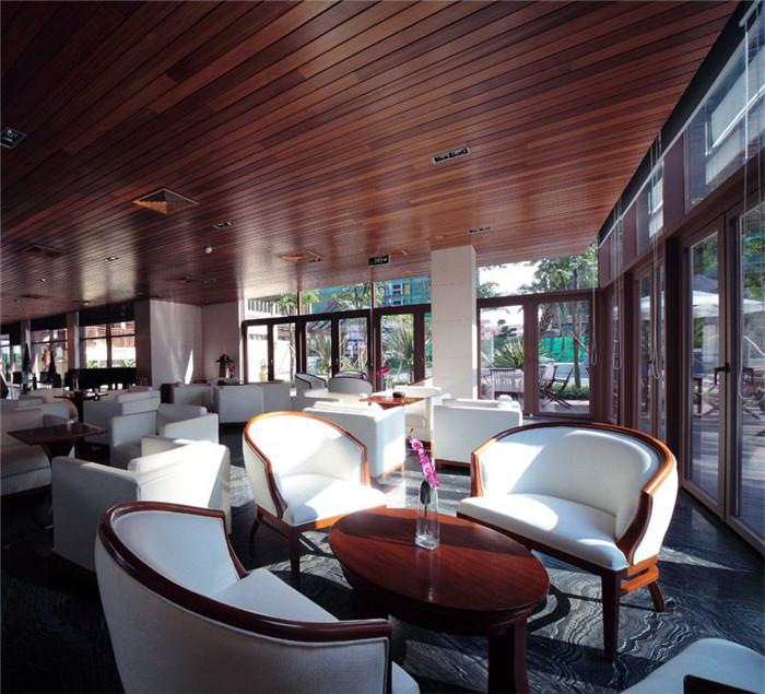 东南亚风格售楼部设计方案 富通天邑湾营销中心