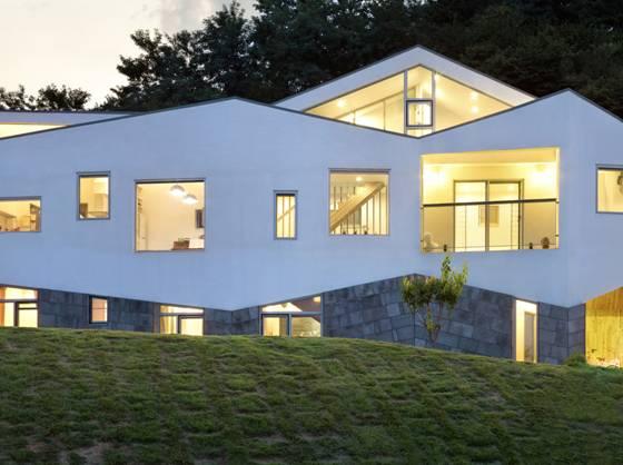 韩式二层别墅图片
