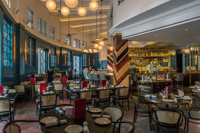 新加坡黑天鹅餐厅设计 独具特色的欧洲经典风情餐厅图片