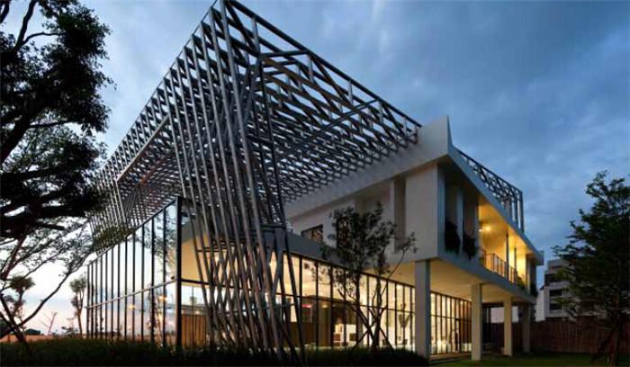 盒中盒 現代環保的創意售樓部設計效果圖