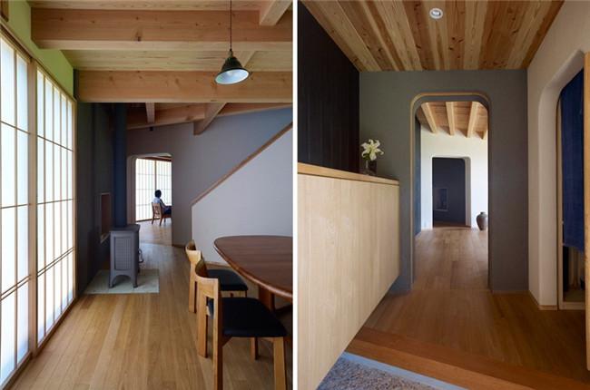别墅木制材料设计