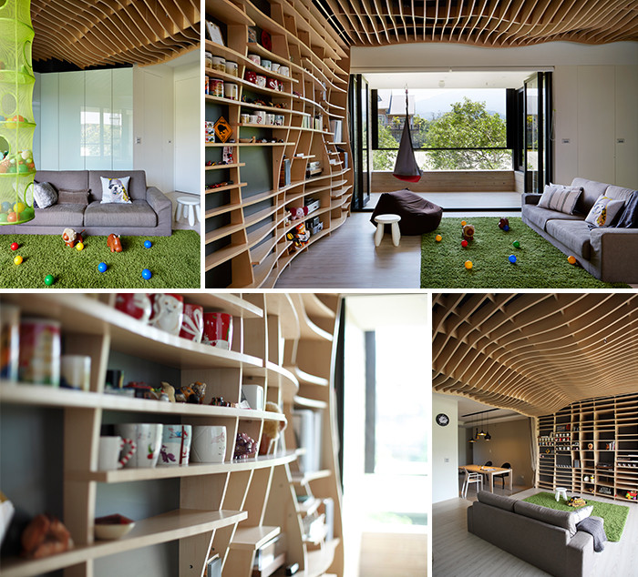 创意别墅室内设计效果图图片