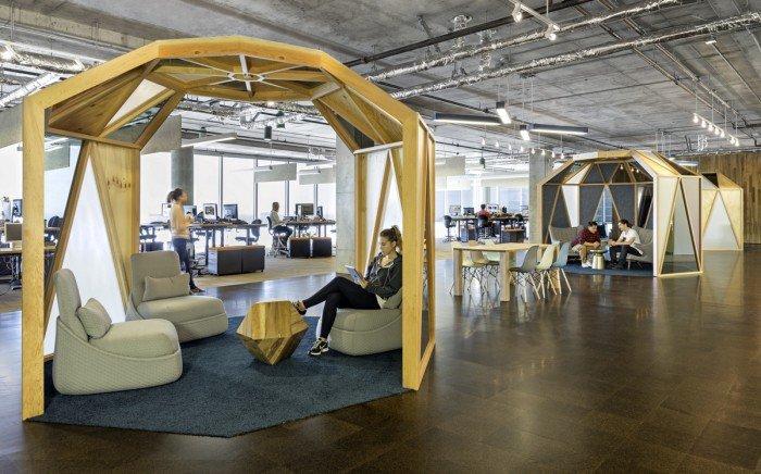 创意办公 cisco-meraki 旧金山总部办公室设计方案图片