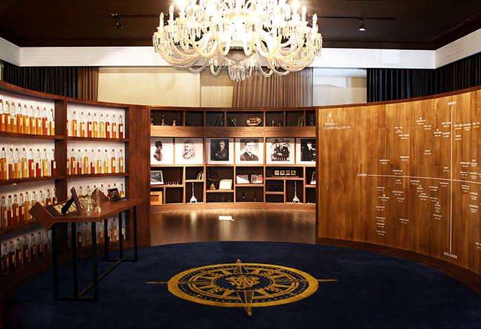 威士忌洋酒旗舰店展厅设计图