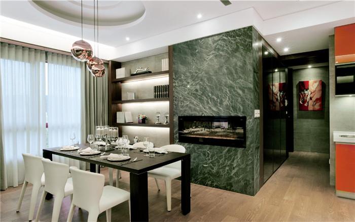 开放式别墅餐厅设计方案
