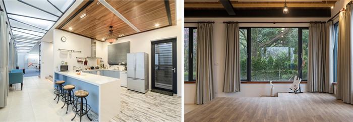 充满创意与艺术气质的独栋别墅内部画室装修设计