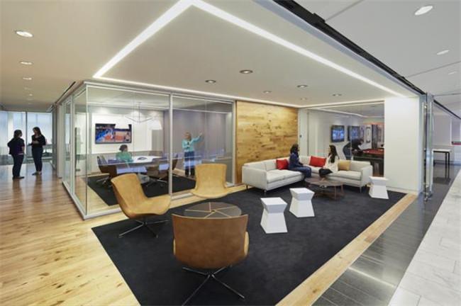 办公室室内空间设计图