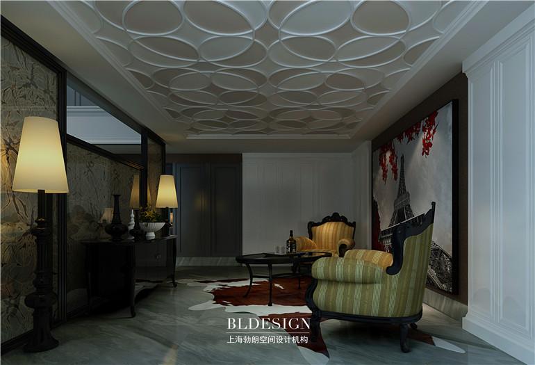 欧式复式别墅样板房设计案例