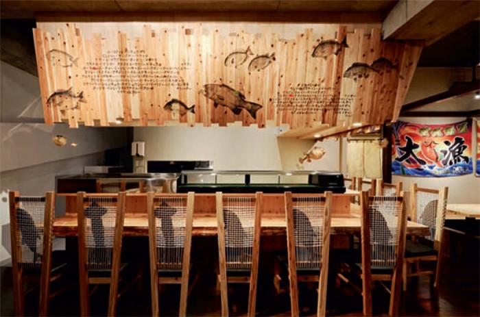 taian-maru大海主题餐厅酒吧设计图