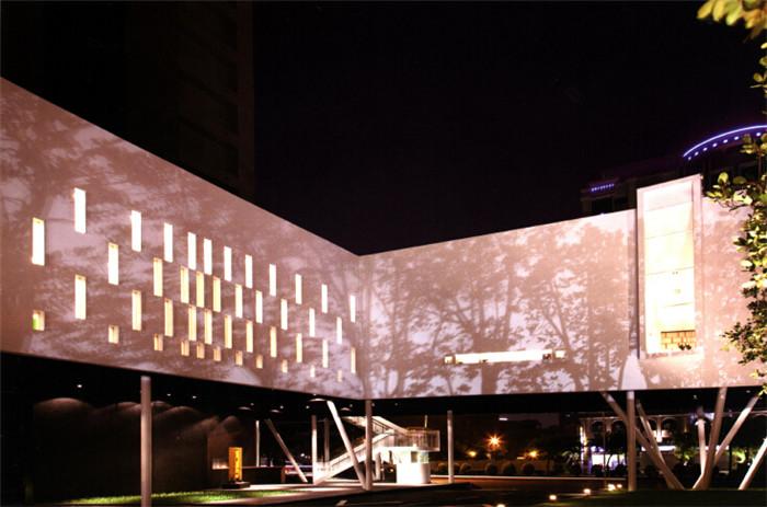 现代大气的售楼处外观设计效果图