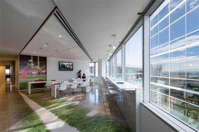 directv总部绿色办公室设计案例