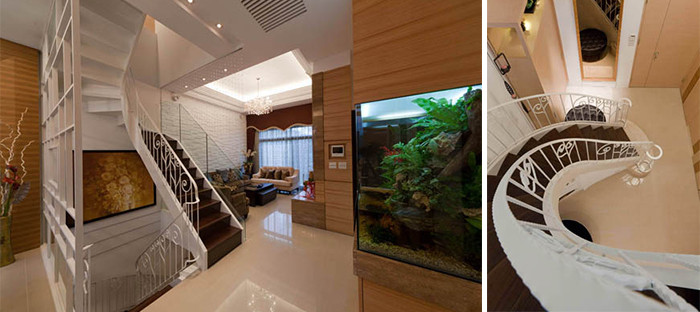 现代新古典风格经典复式别墅豪宅设计案例