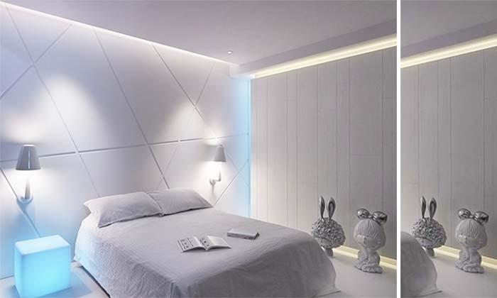 时尚素雅的别墅卧室设计