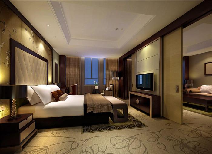 姜堰宾馆——现代中式五星级酒店设计案例欣赏