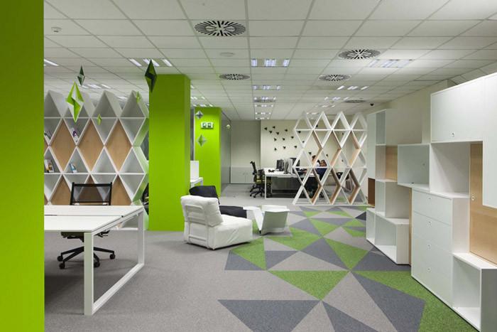 保加利亚索非亚siteground主题性创意办公室设计案例 行业资讯 上海勃朗空间设计公司