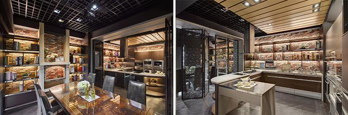 专业店面设计公司分享极致时尚的日式厨具店店面设计方案