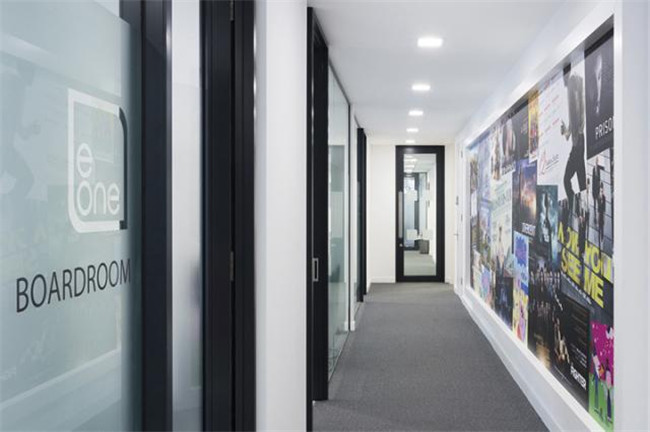 英国entertainment公司企业总部办公室设计方案