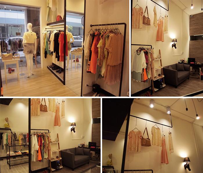 100万预算以下精品时尚商场女装专卖店店面设计方案