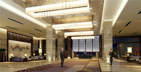 五星级酒店大堂设计