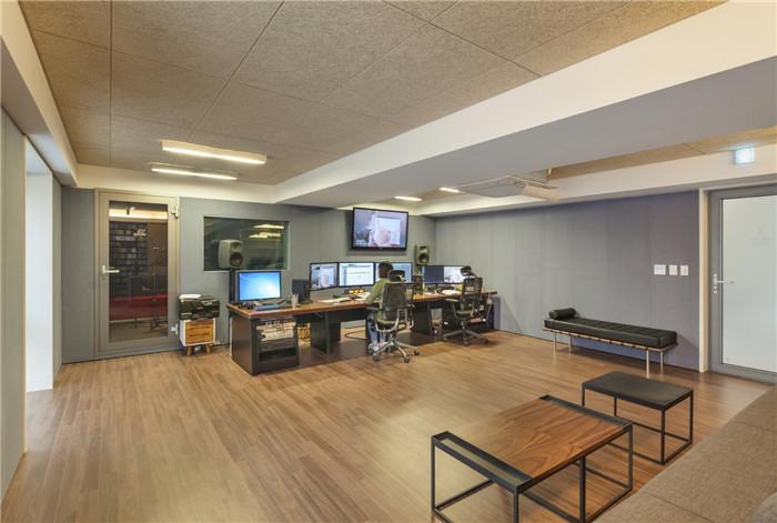峴洞limelight音樂咨詢公司辦公室設計案例欣賞