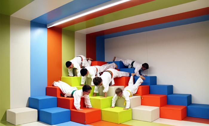 国外创意儿童活动中心俱乐部设计欣赏图片