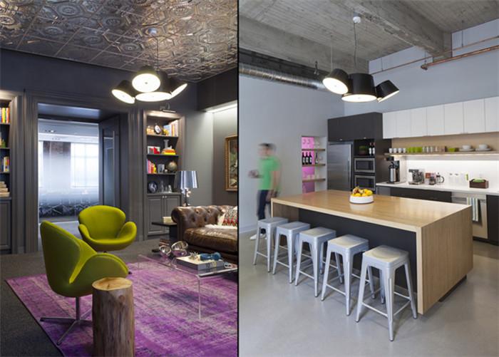 lithium美国旧金山总部特色时尚创意办公室设计