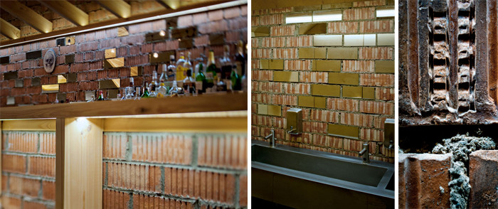 文章导读:小心着手家具选择和确切的原料运用,有时会让小空间产生截然不同的新样貌,在白俄罗斯首都里一间「ATTIC」小酒吧实践了这个道理,由重新改建的屋顶阁楼制成,整体使用了原始木桩结构,不管是建材、风格、氛围皆以温馨参佐的作用下,让原本印象中黑漆漆一片的置物阁楼间有了新生命。