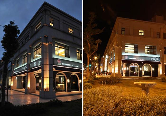 月桂冠西餐厅外观门头设计