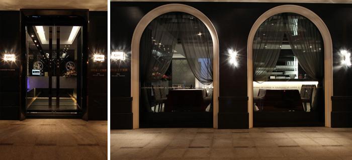 法式迷情 极度浪漫的法式西餐厅设计案例