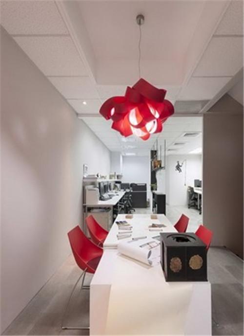 台湾创意办公空间设计效果图欣赏
