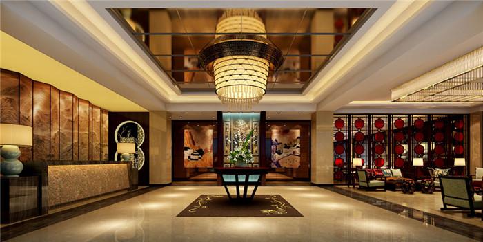 文章导读:重庆益欣酒店是一个四星级标准的商务精品酒店。本案空间揉入了传统中式之美,以及现代设计精华。那么,下面就同上海勃朗设计的小编一起欣赏这个商务精品酒店设计案例吧!   走进酒店大堂,处处皆见中式传统之美。无论是中国传统色彩的风景画还是特色的屏风设计,无不展示着一种传统的高贵与典雅。厅中,巨大的大吊灯,位于中央之处,让整个大堂熠熠生辉。   酒店客房设计也是结合了中式元素与现代元素之特色。沉稳的花式地板装饰让酒店客房素净典雅起来,精致的桌椅为整个空间描述了一种现代精致之美。郑州酒店设计公司的小编认为,