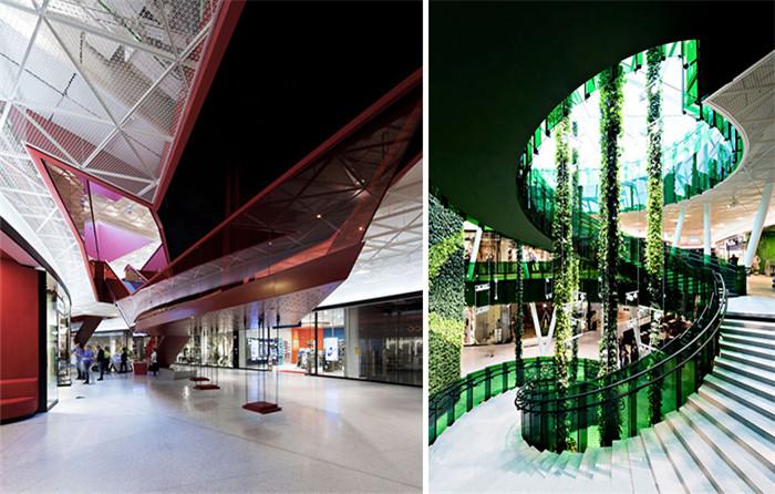 将它设计为一个开放式的空中花园与停车场,未来还规划水疗中心与露天图片