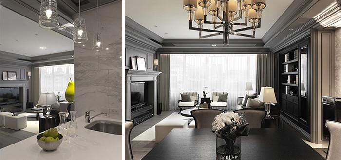 别墅客厅设计案例