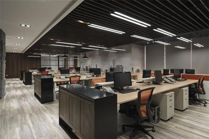 郑州办公室设计公司与您分享工业风现代办公室设计
