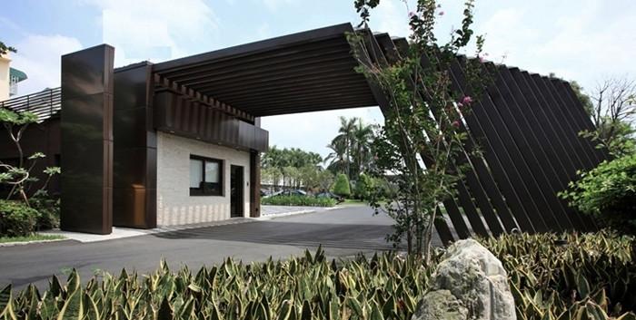 现代古典风green style景观餐厅设计方案赏析图片